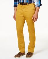 Club Room Men's Slim-Fit Stretch Chinos, Created for Macy's