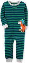 Carter's Tiger Stripe-Print Cotton Pajamas, Baby Boys