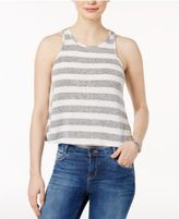 Bar III Striped Cutaway Tank Top, Only at Macy's