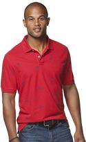 Chaps Big & Tall Classic-Fit Sailfish Polo