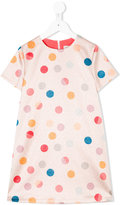 Paul Smith polka dots glittery dress - kids - Viscose - 2 yrs