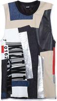 Kokon To Zai patchwork T-shirt - men - Cotton/Polyester - S