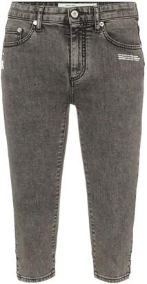 Off-White Denim Capri Trousers