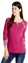 Lucky Brand Women's Swit Mixed Thermal Shirt