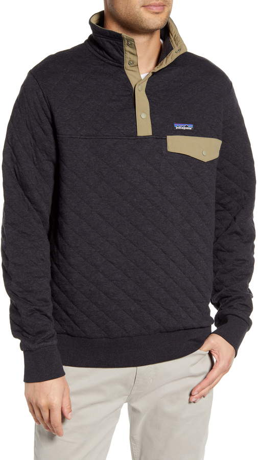 Snap-T(R) Quilted Fleece Pullover
