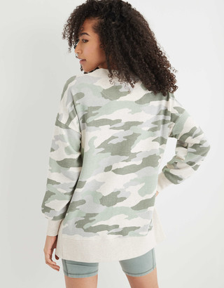 aerie Good Vibes Oversized Sweatshirt