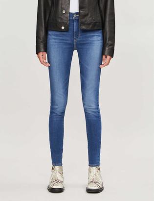 Levi's 720 High-Rise Super-Skinny Stretch-Denim Jeans