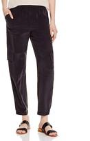 Theory Hamtana Silk Cargo Pants