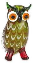 Badash 8-Inch Art Glass Owl