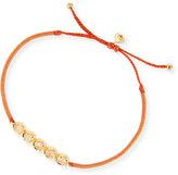 Tai Peach Crystal Single-Strand Toggle Bracelet