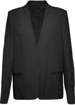 Isabel Marant Satin-trimmed crepe blazer