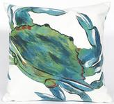 "Crab Sea 20"" Square Outdoor Pillow"