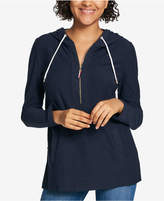 Tommy Hilfiger Cotton Long-Sleeve Hoodie, Created for Macy's