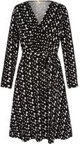 Yumi Leopard Wrap Dress