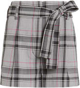 3.1 Phillip Lim Wool Blend High-Rise Belted Shorts