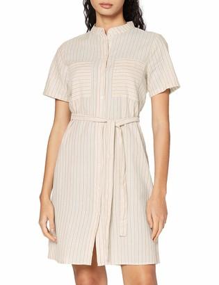 Pieces Women's Pcmarlee Ss Shirt Dress Bc