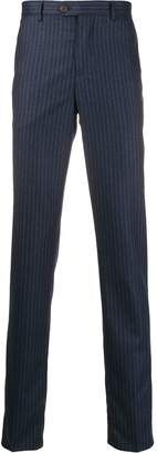 Brunello Cucinelli regular-fit pinstripe trousers