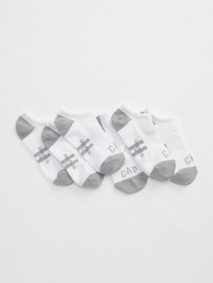 Gap Kids Logo Ankle Socks (3-Pack)