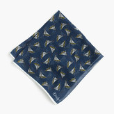 Drake's® Cotton-silk Pocket Square In Schooner Print