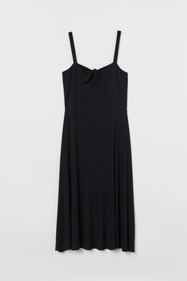 H&M H&M+ Tie-detail Dress