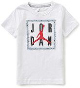 Jordan Little Boys 2T-7 Boxed In Cement Short-Sleeve Tee
