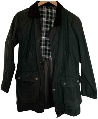 Urban Outfitters Khaki Cotton Coat for Women