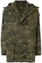 MHI camouflage print parka