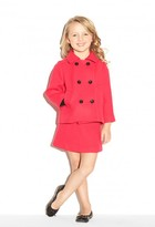 Milly Minis Doubleface Wool Penelope Peacoat