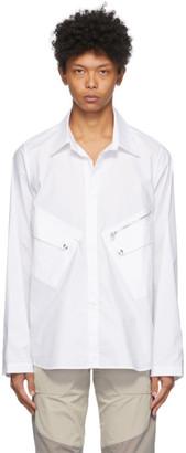 Arnar Már Jónsson White Ventile Shirt
