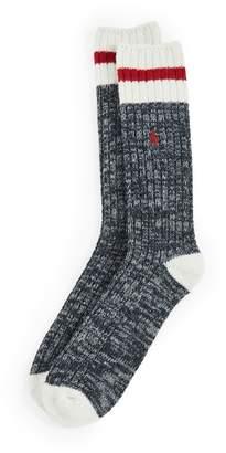 Polo Ralph Lauren S2X1 Rib Monkey Boot Socks