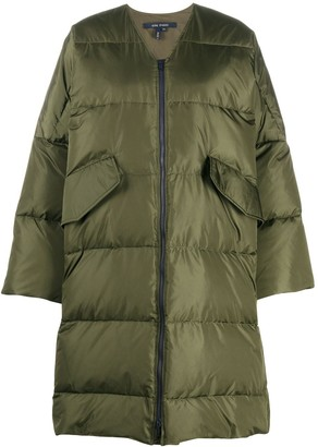 Sofie D'hoore Collarless Padded Coat