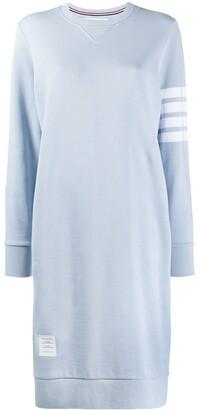 Thom Browne 4-Bar Long Sweater Dress