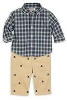 Ralph Lauren Baby's Cotton Shirt, Pants & Belt Set