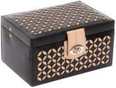 Wolf Chloe Black Jewellery Box - Small