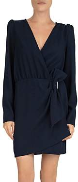 The Kooples Daisy Bow-Detail Crepe Dress