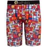 Ethika Men's Stained Glass The Staple Fit Boxer Brief Underwear-Medium
