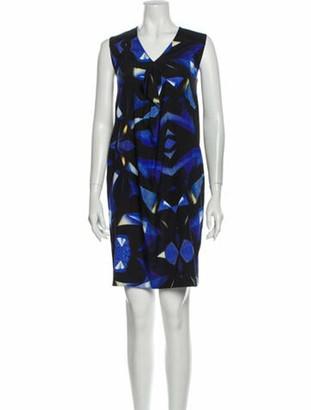 Zero Maria Cornejo Silk Mini Dress w/ Tags Blue