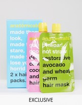 Anatomicals ASOS Exclusive Hair Pack x 2 Masks