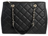 Mossimo Women's Quilted Tote Handbag