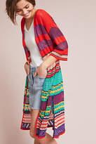 Cecilia Prado Striped Long Kimono