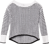 Rag & Bone Daniela Two-Tone Sweater