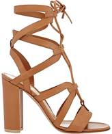 Gianvito Rossi Women's Lace-Up Gladiator Sandals-TAN
