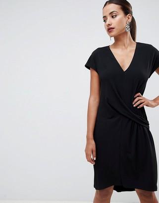 ASOS DESIGN dropped waist dress