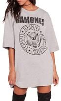 Missguided Women's Ramones T-Shirt Dress