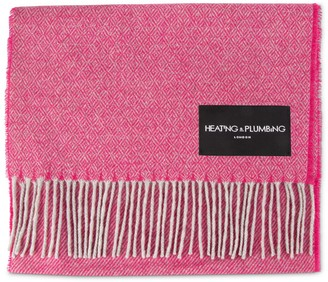 Heating & Plumbing London Love Stories Cashmere Scarf - Cerise