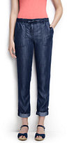 Classic Women's Tall Market Pants-Indigo Tencel