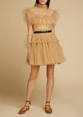 KHAITE The Paula Dress in Nude
