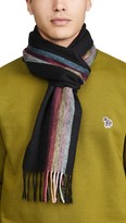 Paul Smith Central Artist Cashmere Scarf
