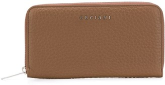 Orciani Zipped Continental Wallet