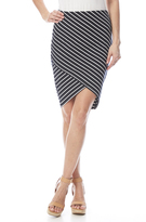 Dex Asymmetrical Pencil Skirt